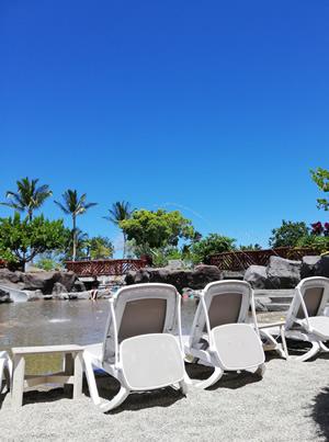 ハワイ島 プール